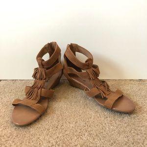 American Eagle Fringe Sandals